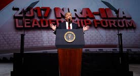 Did Trump's NRA speech send a message to Washington?
