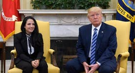 Freed Egyptian-American prisoner meets with Trump