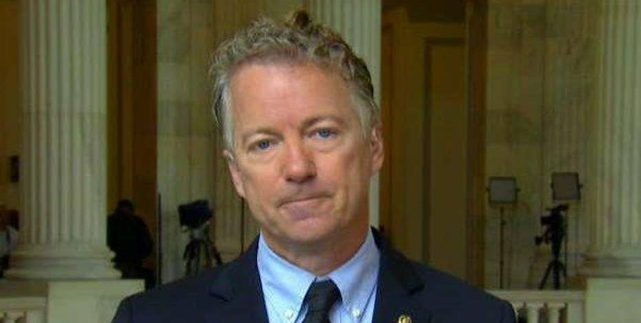 Sen. Rand Paul (R-Ky.) on President Trump firing FBI director James Comey and why he think's he was a target of Obama spying.