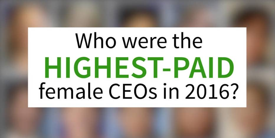 They run some of the biggest Fortune 500 companies and get paid the big bucks. Here's a breakdown of the highest-paid female CEOs in 2016.