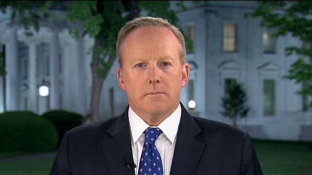 Sean Spicer on Trump firing FBI Director Comey