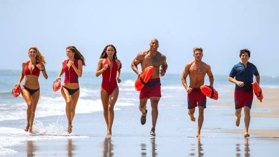 Baywatch splashes into theaters