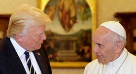 President Trump talks climate change, terrorism with the Pope