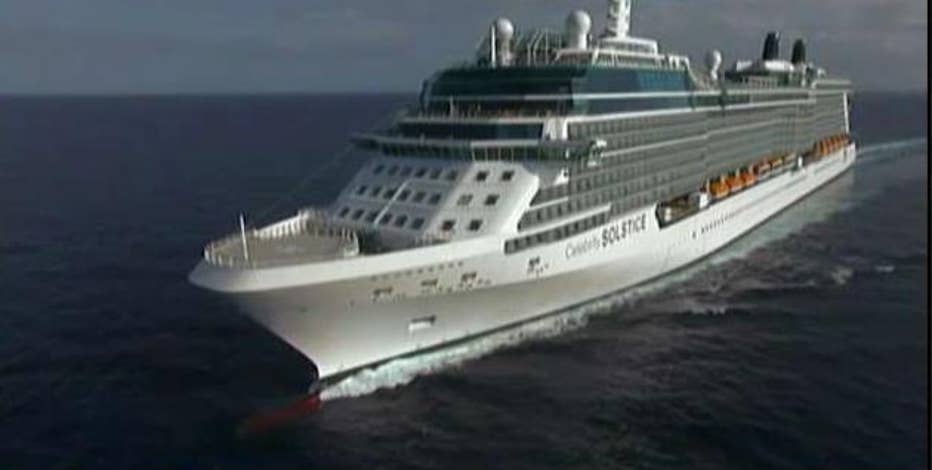 Royal Caribbean Cruises CEO Richard Fain on the new 'Celebrity Edge' cruise line built with virtual reality technology.
