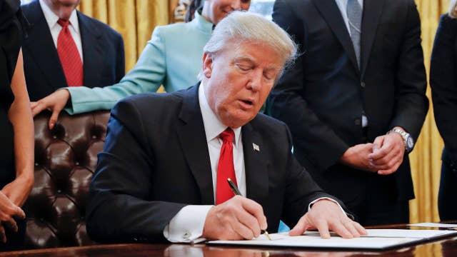 Trump doubles down on his original 'travel ban'