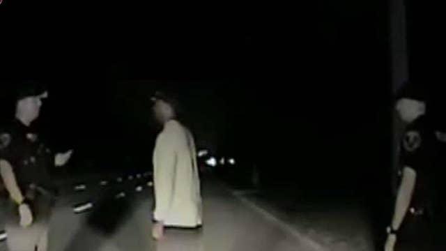 Dash-cam video of Tiger Woods arrest released