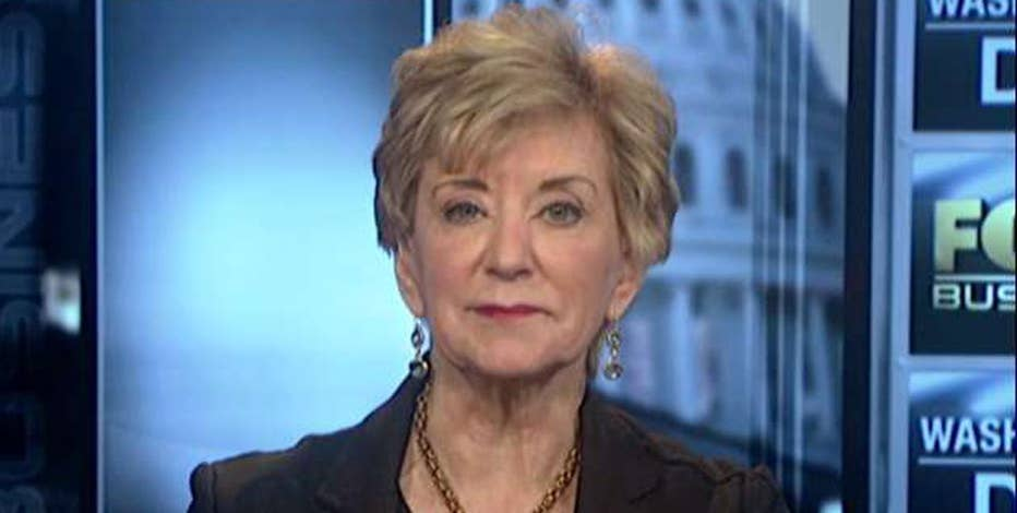 Small Business Administrator Linda McMahon on the state of small businesses in the U.S.