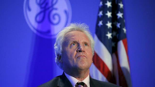 GE CEO Jeffrey Immelt passes the reins to John Flannery
