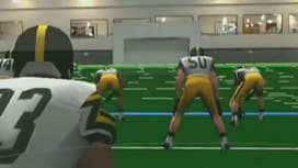 Training against holographic NFL players
