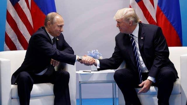 Trump: Putin and I have had some very good talks