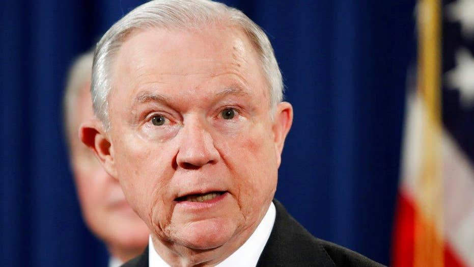 Sessions will serve as AG 'as long as that is appropriate'