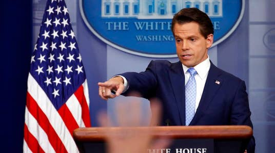 Scaramucci: I don't like the term 'fake news'