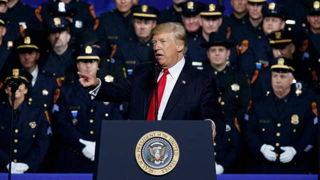 Trump: We're going to destroy the vile, criminal cartel MS-13