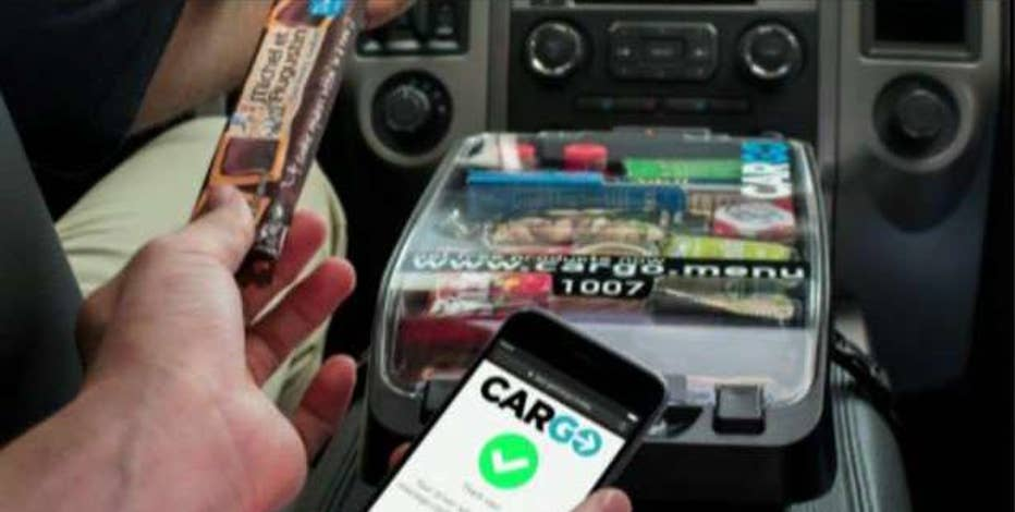 Cargo CEO Jeff Cripe on how the company is turning ride share vehicles into vending machines on the go.