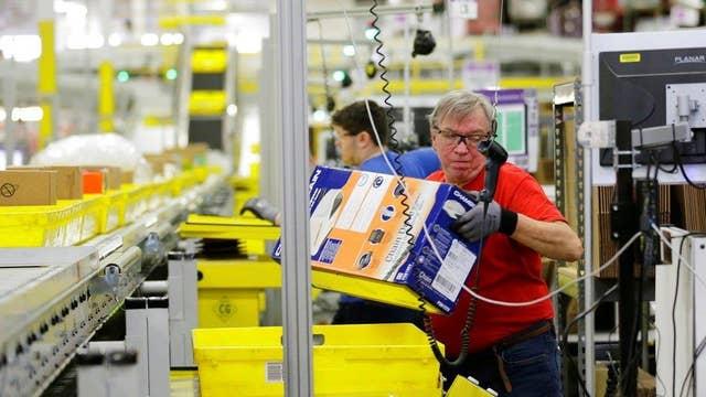 Amazon going on US hiring spree