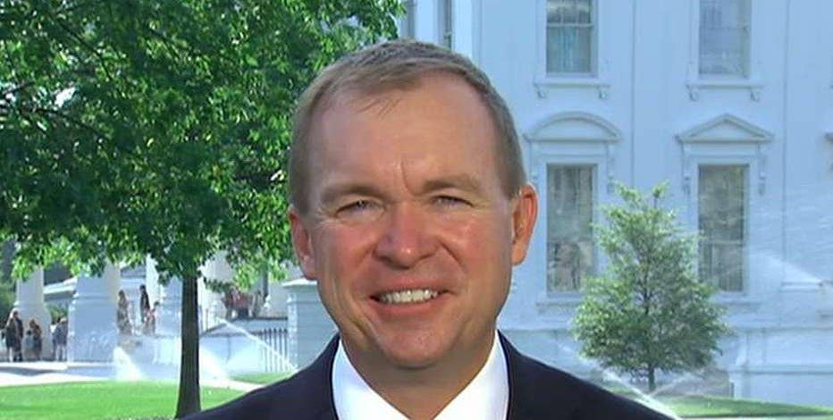 Director of the Office of Management and Budget Mick Mulvaney discusses his outlook for economic growth.