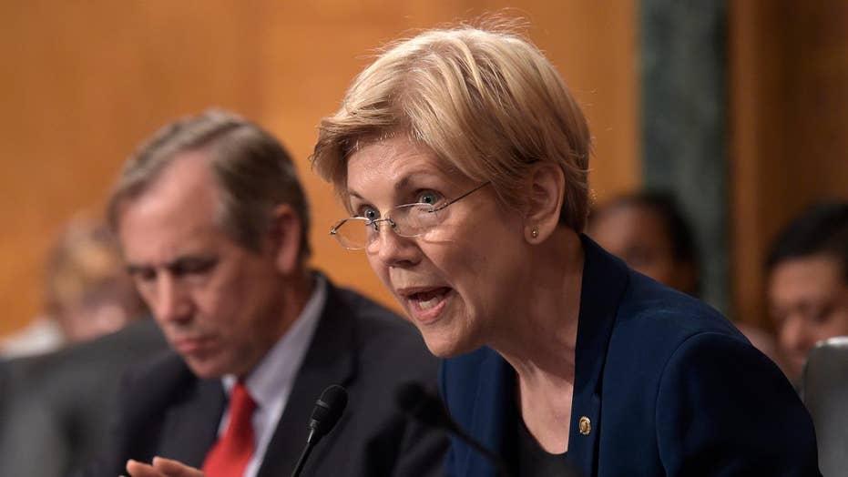 Sen. Warren takes aim at moderates