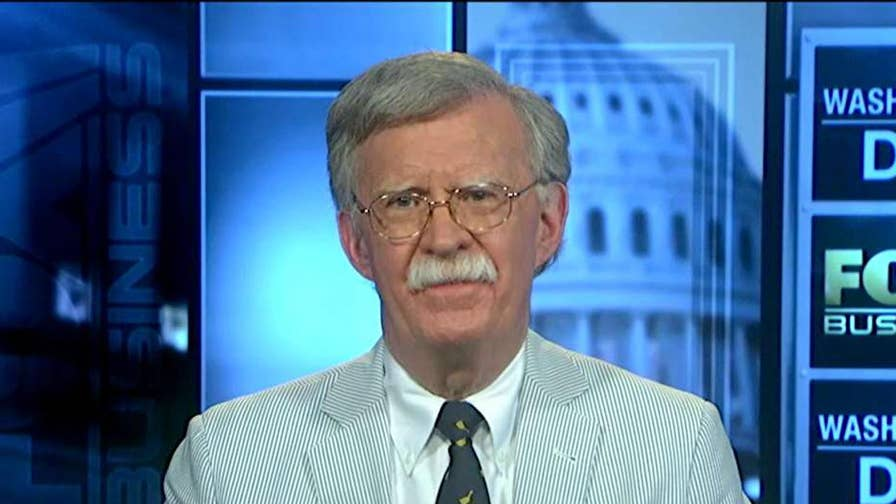 John Bolton, former U.S. ambassador to the U.N., on the newly passed sanctions against Iran.