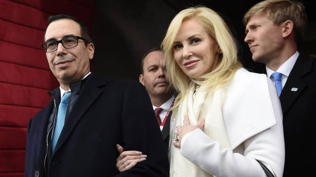 Mnuchin's wife defends wealth against critic in Instagram post