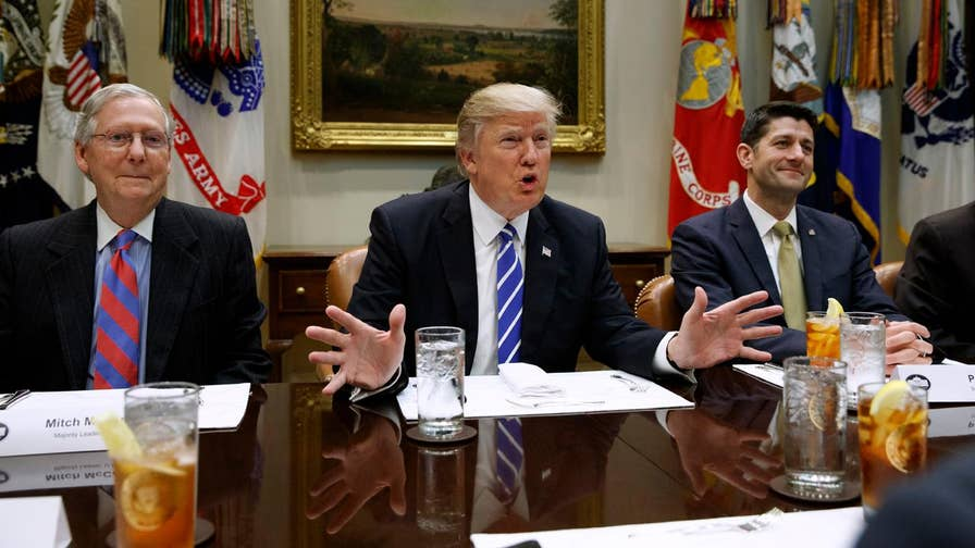 Townhall.com political editor Guy Benson on the relationship between President Trump and congressional GOP leaders.