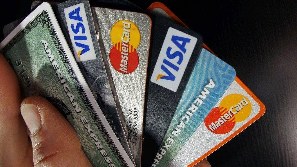 this is how much credit card debt the average american holds fox business - Murphy Visa Card