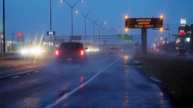 Hurricane Harvey gains momentum as it nears the Texas coast