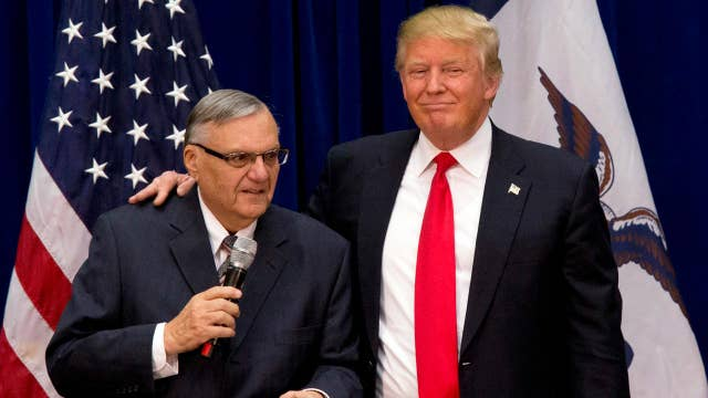 Joe Arpaio: I really appreciate the president's nice comments and support