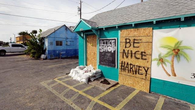 Texas energy companies brace for Hurricane Harvey