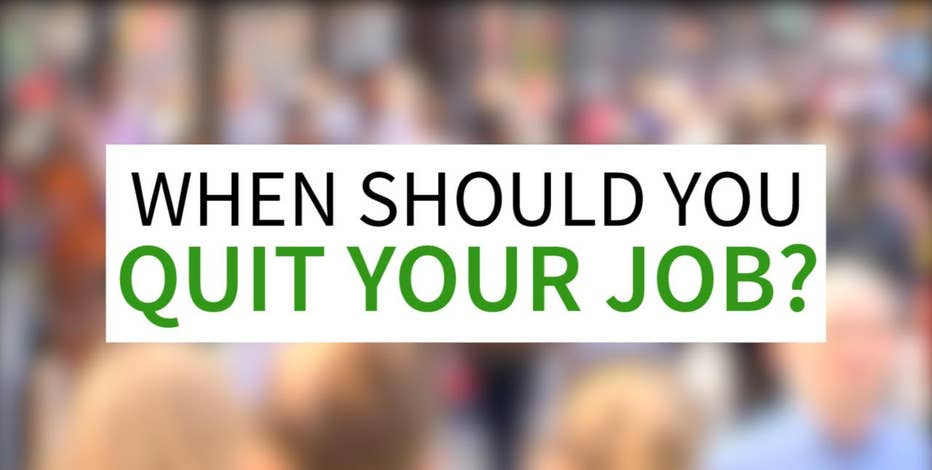 FOX Business hits the streets to find out what the best and worst reasons are to quit your job.