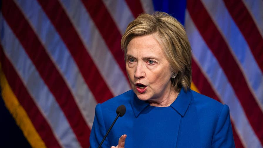 Fiscal Times columnist Liz Peek discusses Hillary Clinton's recent comments blaming outside forces -- particularly Russia -- for her loss to Trump in the 2016 presidential election.