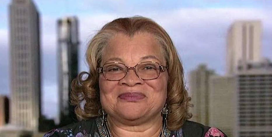 Dr. Alveda King, niece of Dr. Martin Luther King Jr., on President Trump's stance on the NFL national anthem protests.