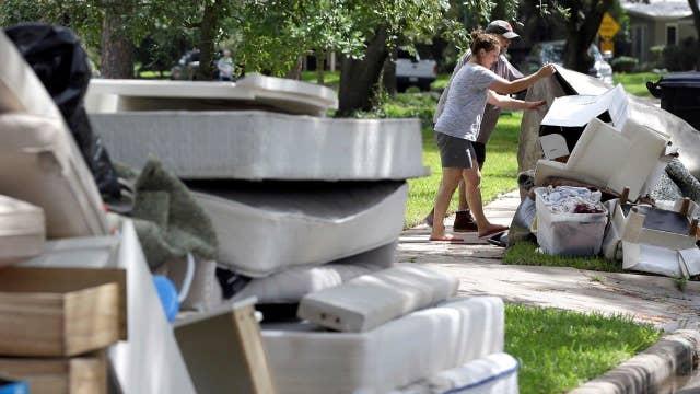 Cleanup efforts begin following Harvey