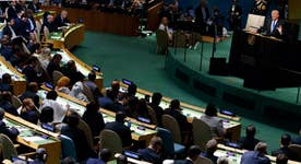 Trump's UN speech reiterates 'America first' sentiment