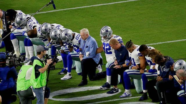 NFL anthem protests to worsen political woes?