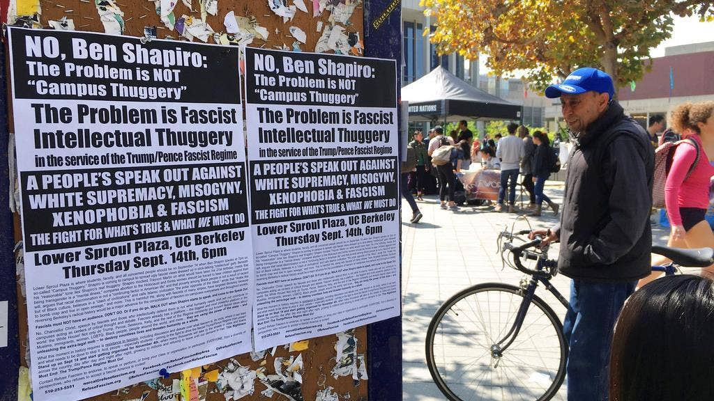 Controversial Berkeley event to begin amid threats of Antifa protests