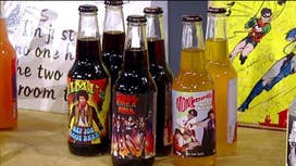 Rocket Fizz' success with celebrity soda