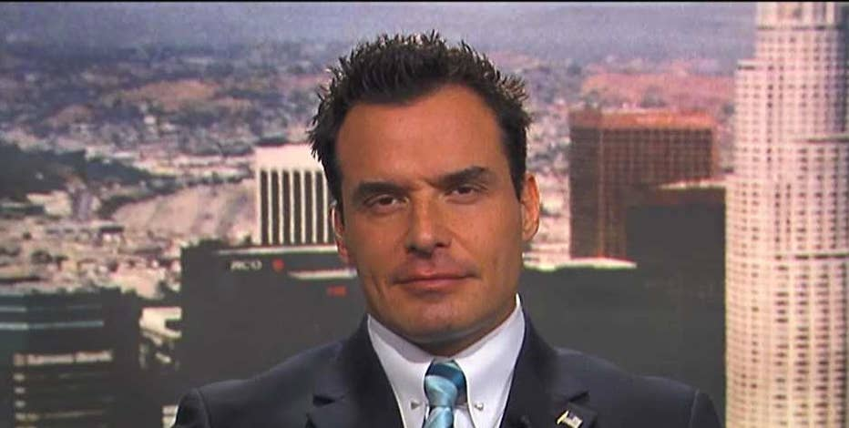 Actor Antonio Sabato, Jr., on his Republican congressional bid in California, immigration and Sen. Dianne Feinstein's re-election bid.