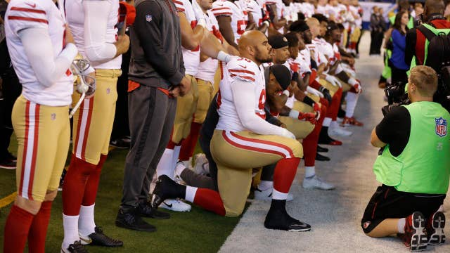NFL favorability taking a hit from National Anthem protests?