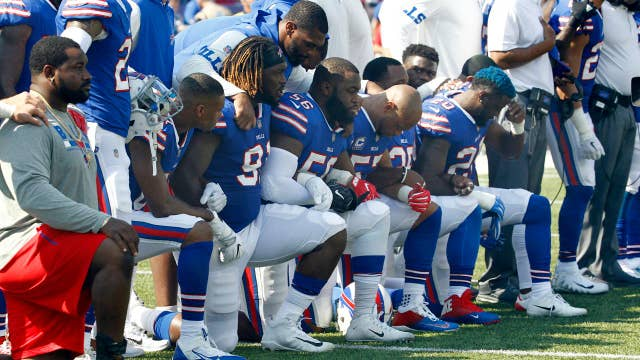 NFL's Roger Goodell wants politics out of football, but allows players to kneel