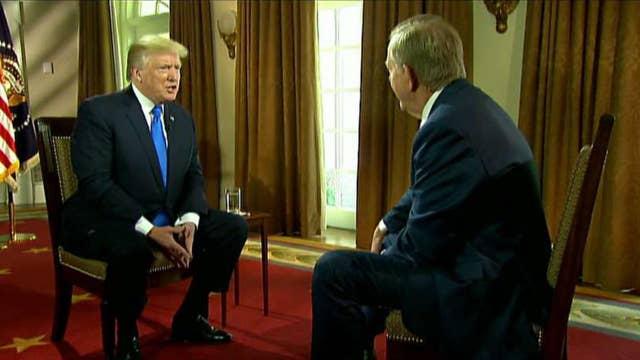 Trump, Dobbs on Fed Chair pick