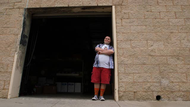 Down syndrome entrepreneur sews successful six figure sock empire