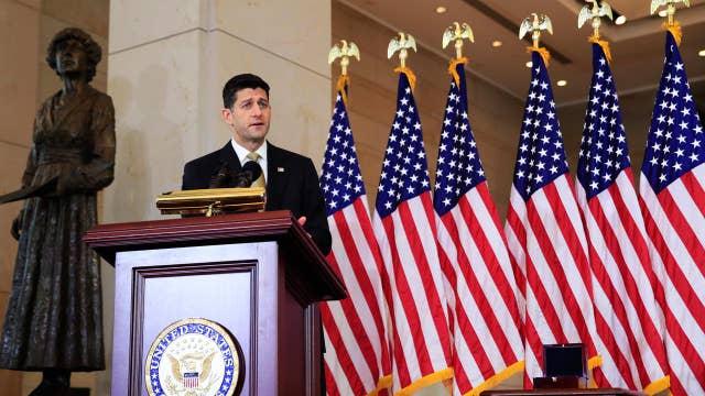 Paul Ryan: We need to stay focused amid GOP-Trump feud