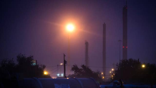 Oil refinery shortage status post-Hurricane Harvey