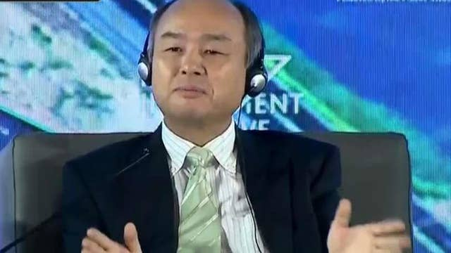 SoftBank CEO: Will create largest solar power generation in the world