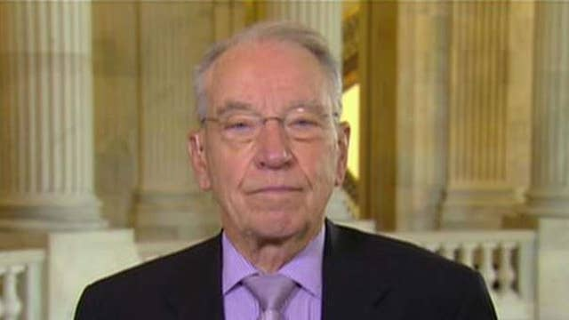 GOP has no plans of phasing in corporate tax rate: Grassley