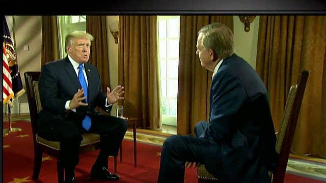 Trump talks DNC Russia dossier, Janet Yellen