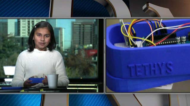 11-year-old Gitanjali Rao invents way to detect lead in water
