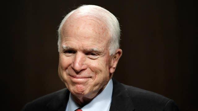 The feud between Trump, McCain