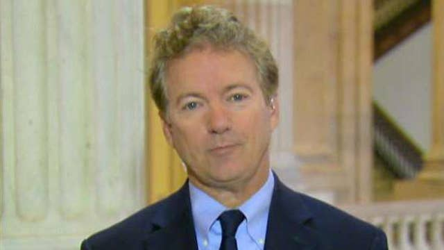 I'm all for cutting the top tax rate: Sen. Rand Paul