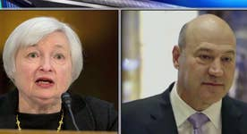 Fed Chair Janet Yellen meets with Gary Cohn at White House